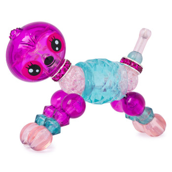 Twisty Petz Glowpoke Sloth features an Enchanted body and measures around 3-inch (8 cm) long.