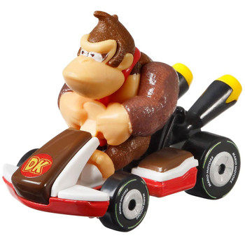 Hot Wheels partners with fan-favourite Mario Kart for this Donkey Kong track-optimized die-cast 1:64 scale replica vehicle.