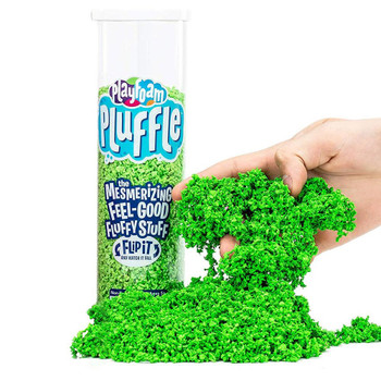 Playfoam Pluffle is the mesmerizing, mixable, can't resistable, feel-good fluffy stuff that never dries out!