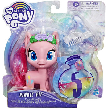 My Little Pony 5-Inch PINKIE PIE Potion Dress Up Figure in packaging.