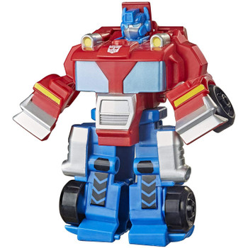 2-IN-1 RESCUE BOTS ACADEMY TOY: Little heroes can enjoy twice the fun with 2 modes of play, converting this Optimus Prime action figure from a truck to a robot and back again.