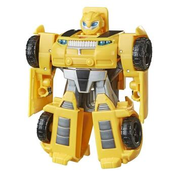 2-IN-1 RESCUE BOTS ACADEMY TOY: Little heroes can enjoy twice the fun with 2 modes of play, converting this Bumblebee action figure from a sportscar to a robot and back again.