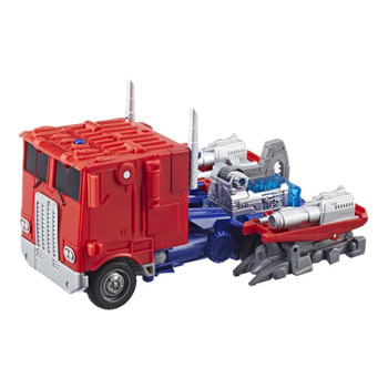 Converts between robot and truck modes in 10 steps