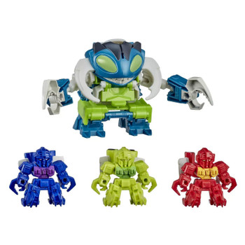 2-IN-1 TOY: Easy conversion kids ages 6 and up can do! Quickly convert Pesticon Repugnus from beast to robot mode in just 3 easy steps. Mini Pesticons convert in 2 steps.