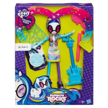 My Little Pony Equestria Girls Rainbow Rocks DJ PON-3 Decorate Doll in packaging.