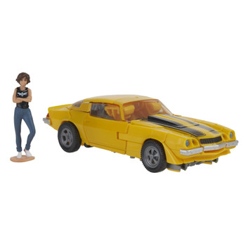 This Bumblebee toy features classic conversion between robot and licensed Camaro modes in 23 steps. Perfect for fans looking for a more advanced converting figure.