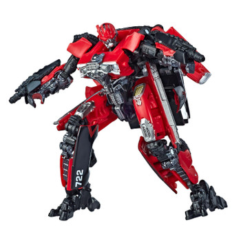 The 40BB Deluxe Class Transformers: Bumblebee Shatter action figure features vivid, movie-inspired deco and includes 2 blaster accessories modeled after the weapons Shatter uses in the film. Figure is highly articulated for posability.