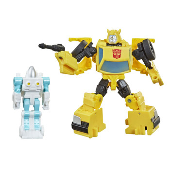 Fans can add this Bumblebee figure to their collection, inspired by the original G1 toy design, released in our new 3.5-inch Core Class scale!