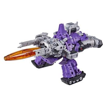 Transformers War for Cybertron: Kingdom Leader Class GALVATRON Action Figure