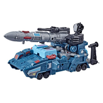 G1 EARTH MODES AND WEAPONS: Doubledealer figure converts into missile launcher truck mode in 20 steps...