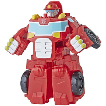 Kids can imagine racing to the rescue with this toy, inspired by the Transformers Rescue Bots Academy animated TV show.