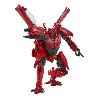 Studio Series Deluxe Class Autobot Dino figure stands around 4.75 inches (12 cm) tall.