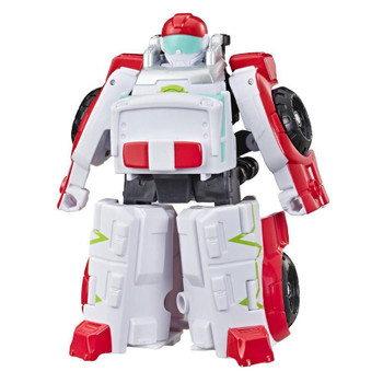 Little heroes can enjoy twice the fun with 2 modes of play, converting this Medix the Doc-Bot action figure from ambulance to robot and back again.