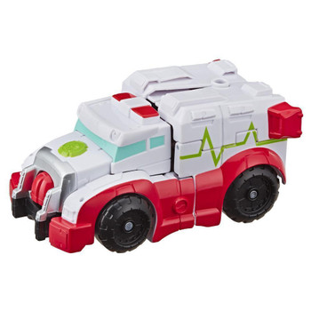 Kids can imagine racing to the rescue with this Medix toy, inspired by the Transformers Rescue Bots Academy animated TV show.