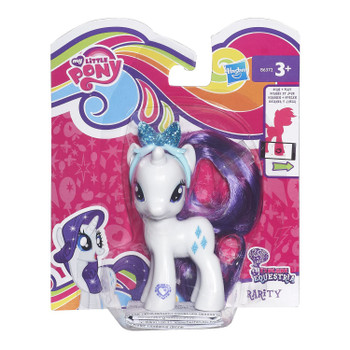 My Little Pony Explore Equestria RARITY Figure with Headband in packaging.