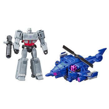 3-IN-1 CONVERTING TOY: Easy Transformers conversion for kids 6 and up! Convert Megatron toy from tank to robot mode in 9 steps, then combine with his Chopper Cut Spark Armor to armor-up figure. Makes a great gift for kids!