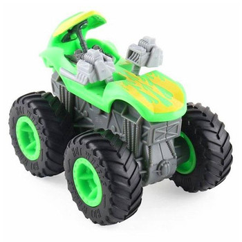 Hit an obstacle and watch your Monster Truck blow apart!