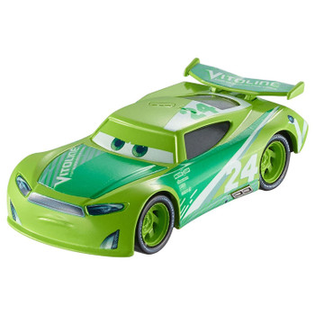 Disney Pixar Cars 3: CHASE RACELOTT 1:55 scale die-Cast vehicle features authentic styling, big personality details and wheels that roll.