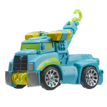 Kids can imagine racing to the rescue with this Hoist toy, inspired by the Transformers Rescue Bots Academy animated TV show.