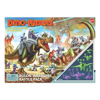 Dino-Riders Rulon Warriors Battle Pack in packaging.
