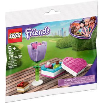 LEGO Friends 30411: Chocolate Box & Flower (Polybag)