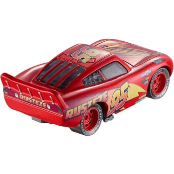 Rust-Eze Lightning McQueen measures around 8 cm (3 inch) long.