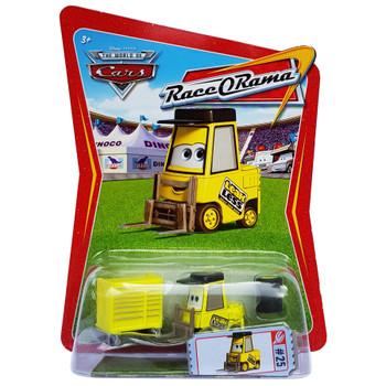 Disney Pixar Cars: LEAKLESS PITTY 1:55 Scale Die-cast Vehicle in packaging.