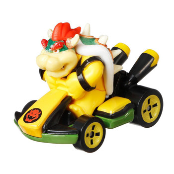 Iconic Mario Kart character Bowser is molded into his Standard Kart.