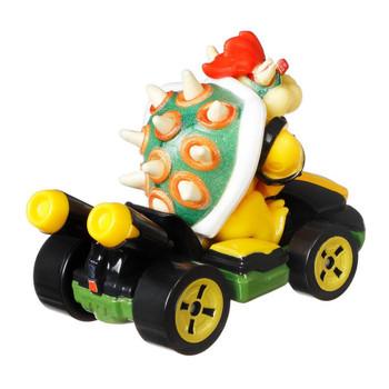 Hot Wheels Mario Kart BOWSER (Standard Kart) 1:64 Scale Replica Die-Cast Vehicle