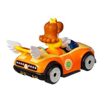 Hot Wheels Mario Kart PRINCESS DAISY (Wild Wing) 1:64 Scale Replica Die-Cast Vehicle