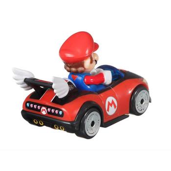 Hot Wheels Mario Kart MARIO (Wild Wing) 1:64 Scale Replica Die-Cast Vehicle