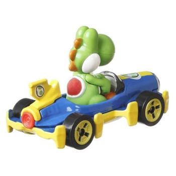 Hot Wheels Mario Kart YOSHI (Mach 8) 1:64 Scale Replica Die-Cast Vehicle