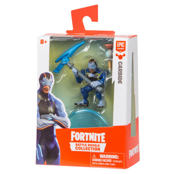 Fortnite Battle Royale Collection Solo Pack: CARBIDE Figure in packaging.