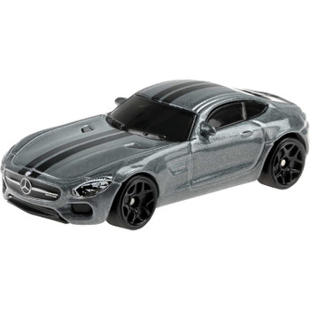 Authentically styled dark grey '15 Mercedes-AMG GT as driven by Tej Parker in The Fate of the Furious.