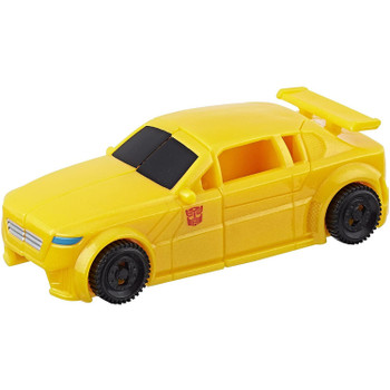 Transformers Authentics Bumblebee changes from robot mode to sports car mode and back in just 3 easy steps.