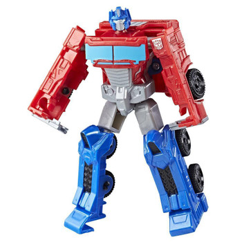 Experience the excitement of Transformers conversion play with this Transformers Authentics Optimus Prime figure.