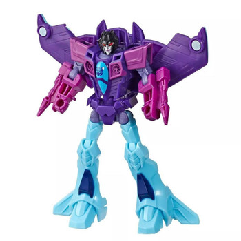 Warrior Class Slipstream figure inspired by the Cyberverse animated series.