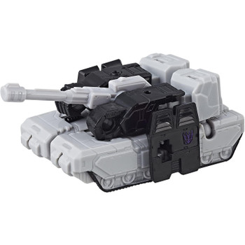 Transformers Authentics Megatron changes from robot mode to tank mode and back in just 6 easy steps.