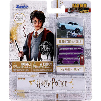 Nano Hollywood Rides Harry Potter Die-Cast Vehicle 2-Pack (NV-6) in packaging.