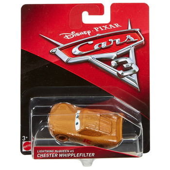 Disney Pixar Cars 3: Lightning McQueen as CHESTER WHIPPLEFILTER 1:55 Scale Die-Cast Vehicle