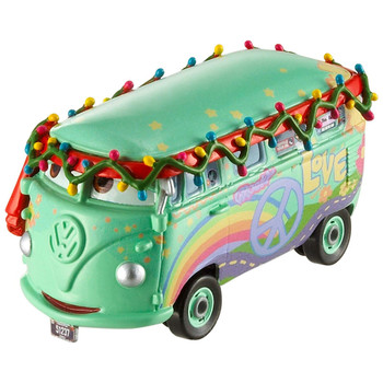 Disney Pixar Cars Christmas Holiday: FUEL TIDE CHEER FILLMORE 1:55 Scale Die-Cast Vehicle
