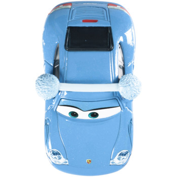 Disney Pixar Cars Christmas Holiday: SNOW DAY SALLY 1:55 Scale Die-Cast Vehicle