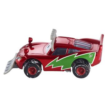 Disney Pixar Cars Christmas Holiday: SNOWPLOW LIGHTNING McQUEEN 1:55 Scale Die-Cast Vehicle