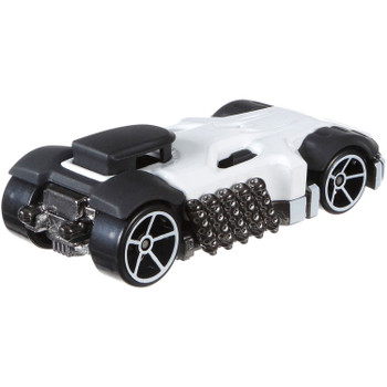 Hot Wheels Marvel PUNISHER Character Car measures around 7.5 cm in length.