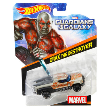 Hot Wheels Marvel Guardians of the Galaxy DRAX THE DESTROYER 1:64 Scale Die-Cast Character Car