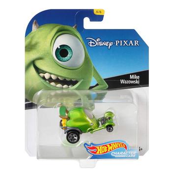 Hot Wheels Disney Pixar Monsters Inc. MIKE WAZOWSKI 1:64 Scale Die-Cast Character Car