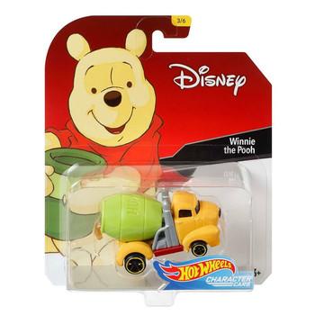 Hot Wheels Disney's WINNIE THE POOH 1:64 Scale Die-Cast Character Car