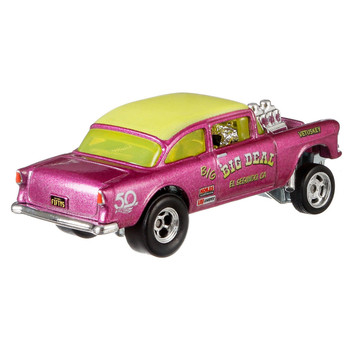 Hot Wheels 50th Anniversary Favorites '55 CHEVY BEL AIR GASSER 1:64 Scale Die-Cast Vehicle