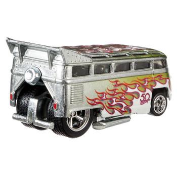 Hot Wheels 50th Anniversary Favorites VOLKSWAGEN T1 DRAG BUS 1:64 Scale Die-Cast Vehicle