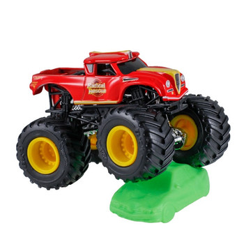 Hot Wheels Monster Jam RADICAL RESCUE 1:64 Scale Die-Cast Truck